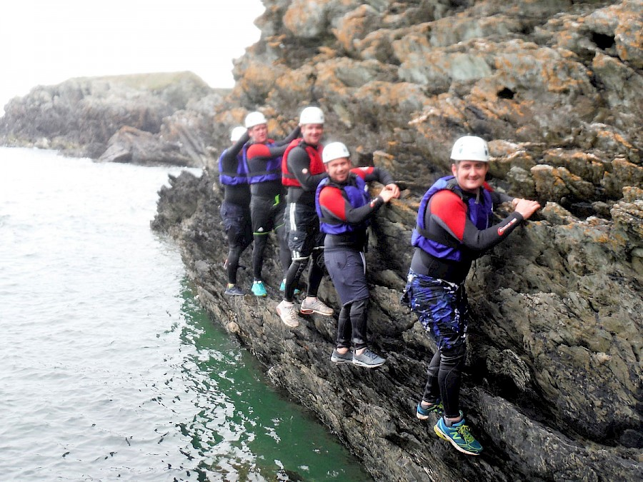 Extreme Coasteering, Anglesey, Wales, Snowdonia