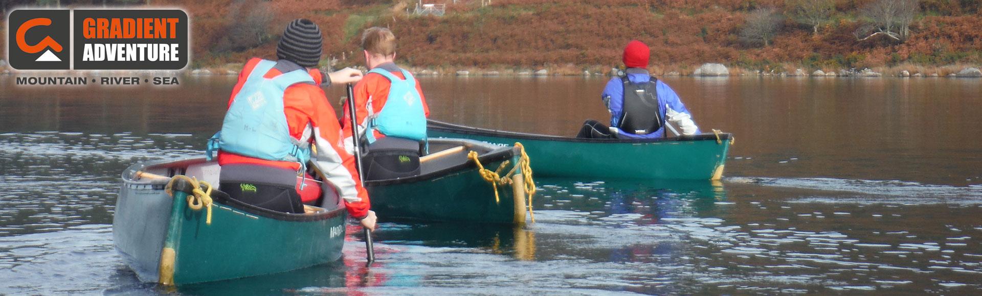 Menai Straits Mini Canoe Expedition - Gradient Adventure