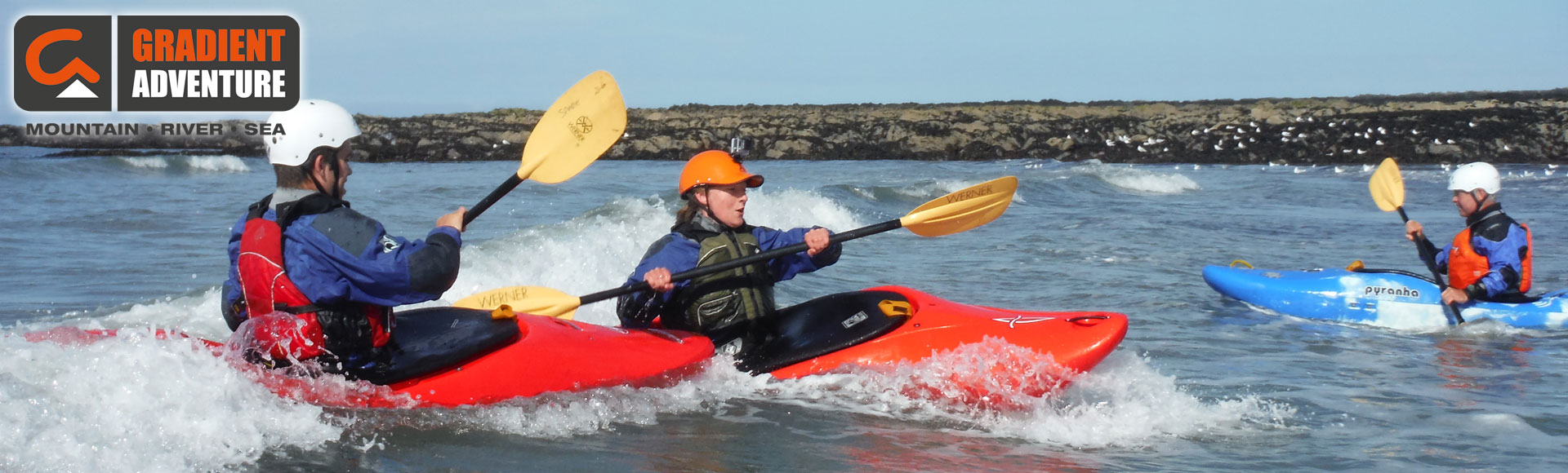 Intro Whitewater Kayaking